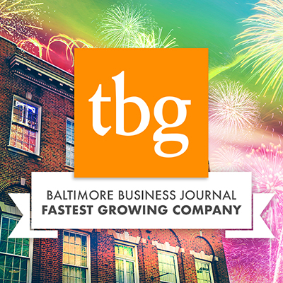 TBG Among 50 Fastest-growing Businesses in Greater Baltimore