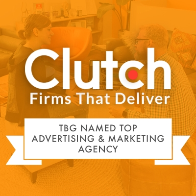TBG Named Top Advertisting and Marketing Agency by Clutch