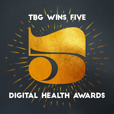 TBG Wins 5 Digital Health Awards