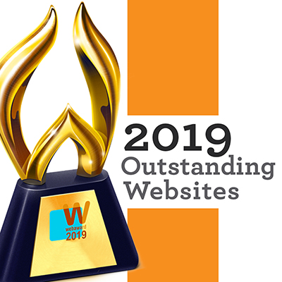 TBG wins two web awards