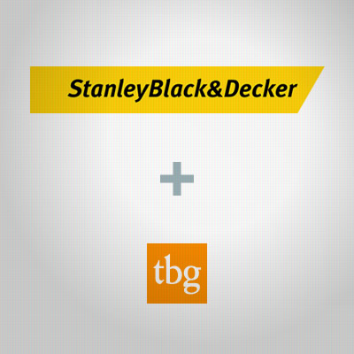 Stanley Black & Decker plus TBG