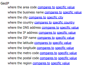 Explaining Sitecore DMS Geographic (GeoIP) Personalization Rules