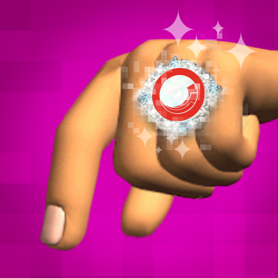 animated hand wearing ring with Sitecore logo