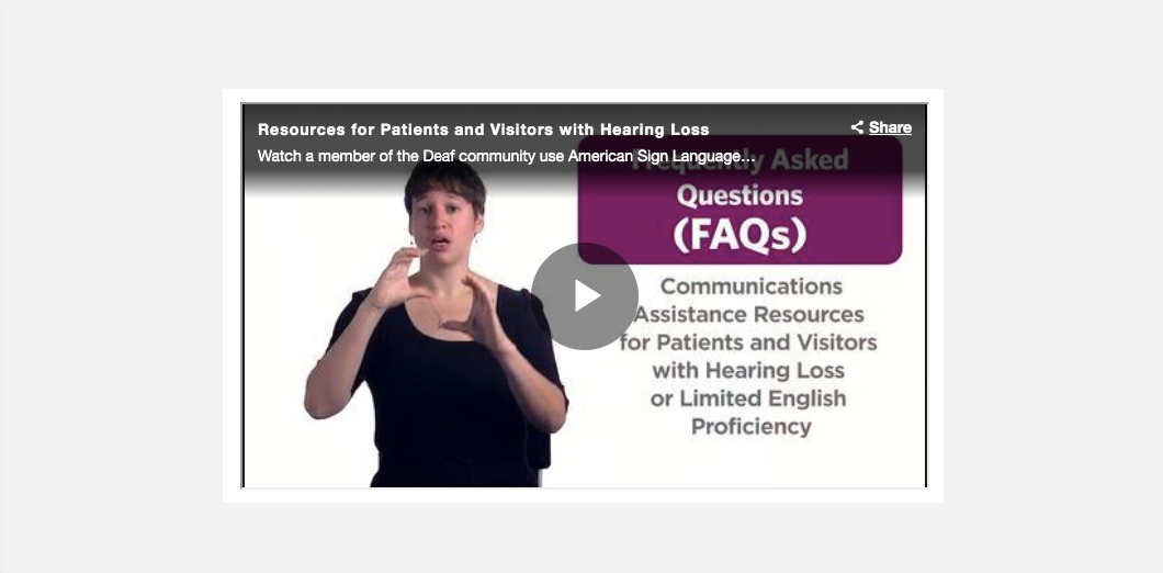 UPMC Deaf Resources